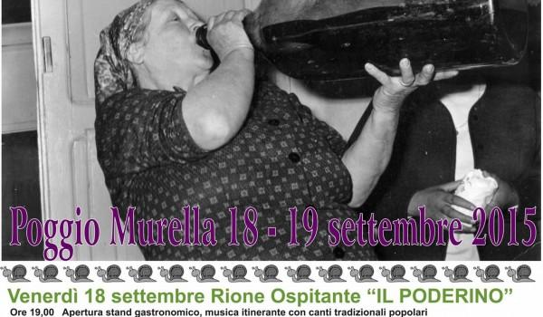Bagana a Poggio Murella (GR) Festa della Torchiatura…